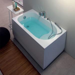 Vasca Da Bagno Piccola 120.Vasca Da Bagno In Casa Una Soluzione Moderna Arredamento Bagno